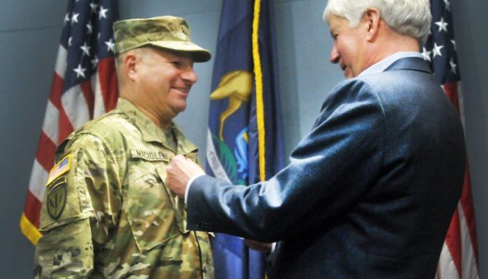 Governor Rick Snyder Promotes Michigan National Guard Soldier from Macomb Township