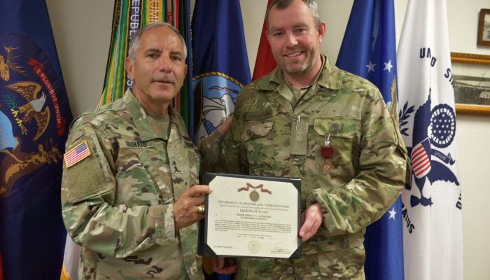 """National Guard, Home Guard Continue International Relationship </br><font size=""""3""""><i>Danish officer awarded for work with partnership</i></font>"""