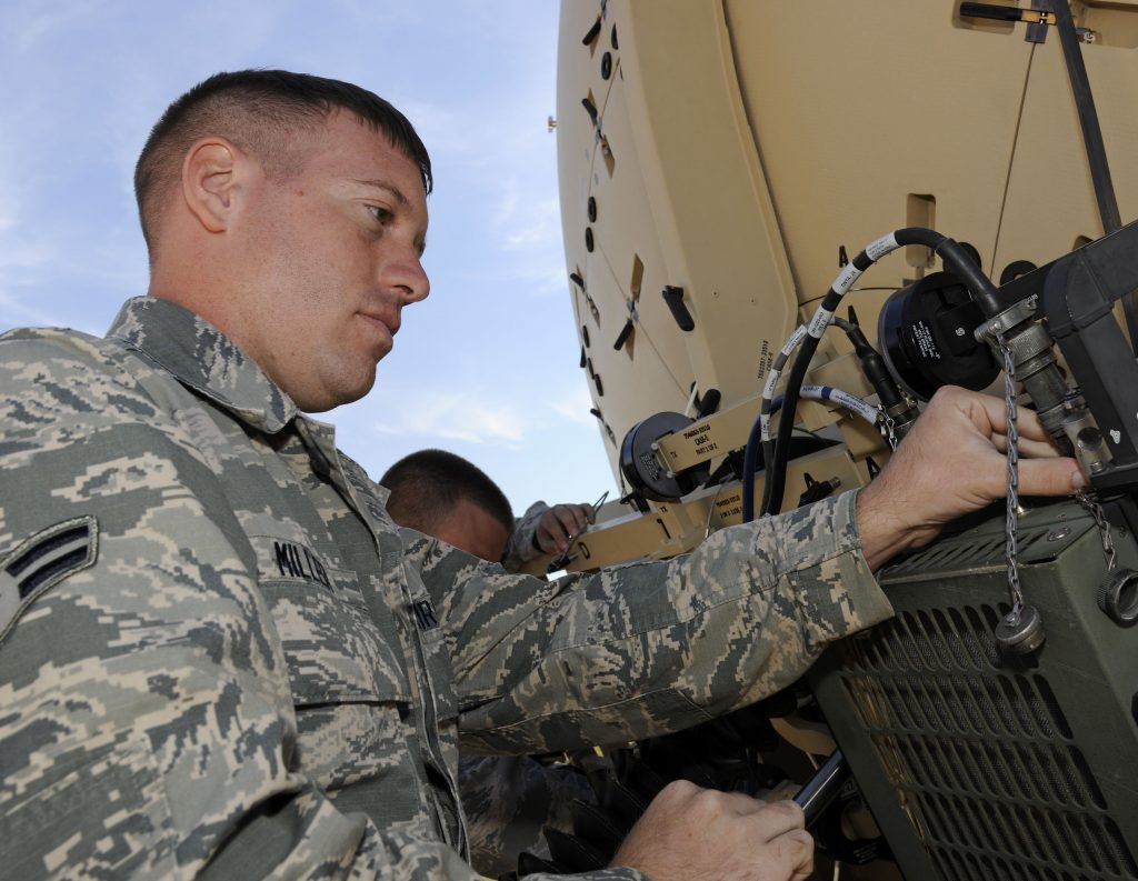 Air Guard Units provide critical communications link for Northern Strike 2016