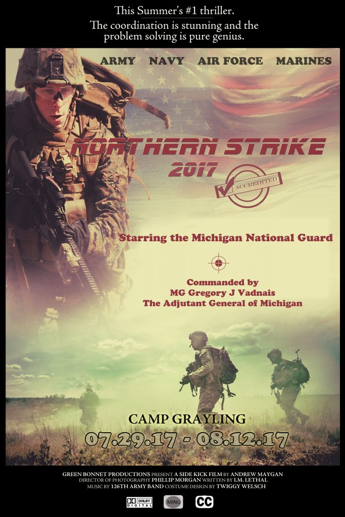 Exercise Northern Strike 2017 is closing in!